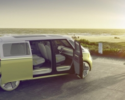 VW unveils new all-electric and autonomous retro microbus with 270 miles of range