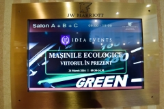 Eco car event door card