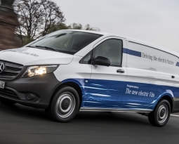 Amazon is buying a fleet of all-electric vans from Mercedes-Benz