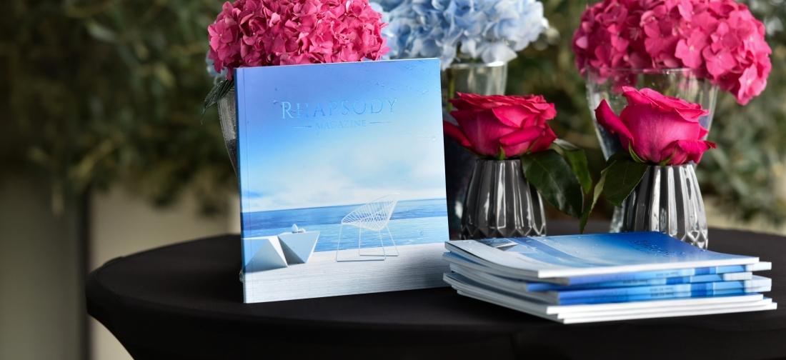 Lansarea noii ediții a revistei Rhapsody Magazine sărbătorită printr-o petrecere exclusivă, marca Idea Events
