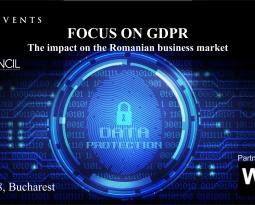 FOCUS ON GDPR – Cea mai complexă conferință dedicată noului regulament de protecție a datelor personale